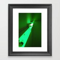 Green Up Framed Art Print