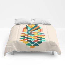 Groovy Pineapple Comforters