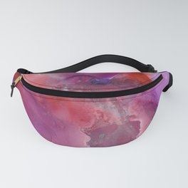 Alcohol Ink 'The Last Unicorn' Fanny Pack