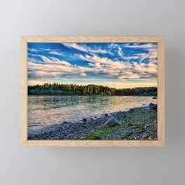 Manitou Beach Bainbrige Island Framed Mini Art Print