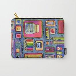 Art Supplies Make Me Happy Carry-All Pouch