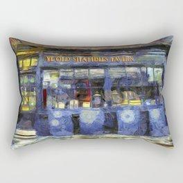 Ye Old Shambles Tavern York Art Rectangular Pillow