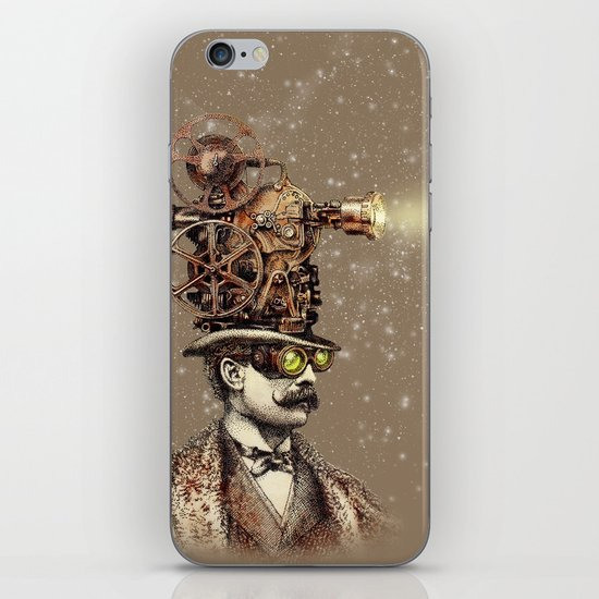 The Projectionist (sepia option) iPhone & iPod Skin