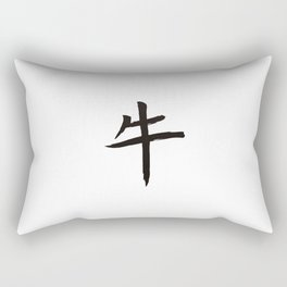 Chinese zodiac sign Ox Rectangular Pillow