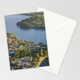 Queenstown, New Zealand Stationery Cards