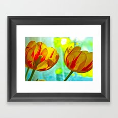 Inside And Out Framed Art Print
