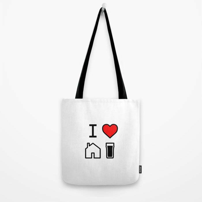 I Heart Homebrew Tote Bag