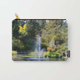 Fountain at VanDusen Botanical Garden Carry-All Pouch