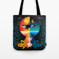 Dream - Sea Day & Night Tote Bag