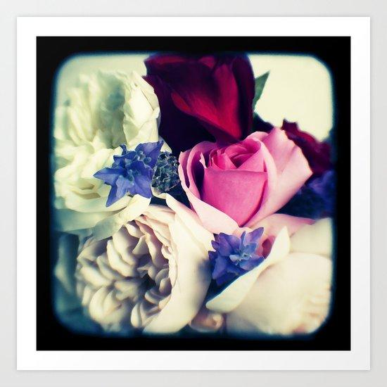 November Roses Art Print