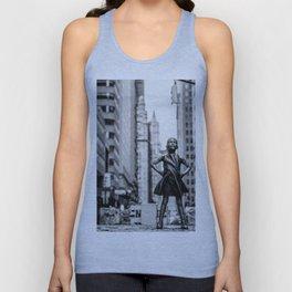 Fearless Girl New York City Unisex Tank Top