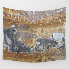 Old grunge wall Wall Tapestry