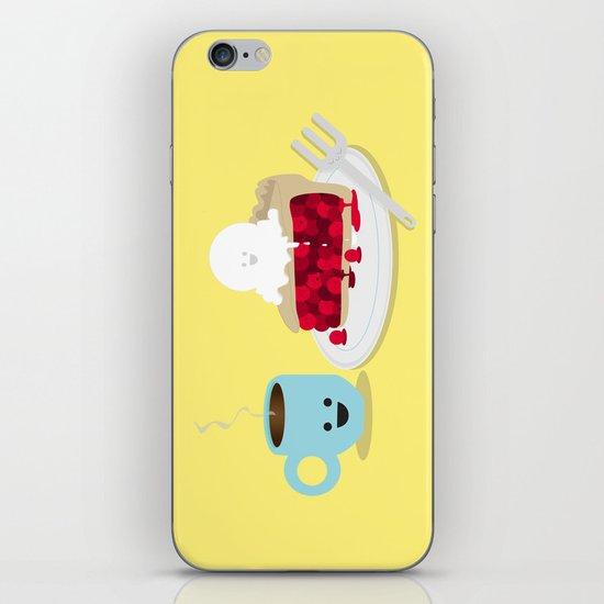 Coffee and Pie iPhone & iPod Skin