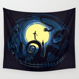 Spider Nightmares Wall Tapestry