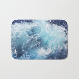 Ocean Waves Bath Mat