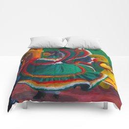 Baile Folklorico Comforters