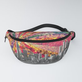 Blooming Toronto Fanny Pack