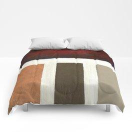 Textured Cubism -Modern Art - Office Art - Hospitality Art Comforters
