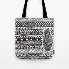 Aztec Feather. Tote Bag
