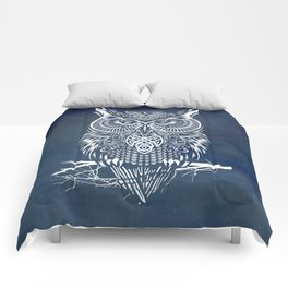 Warrior Owl Night Comforters