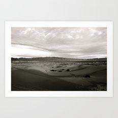 Never-Ending Sandy Ocean Art Print