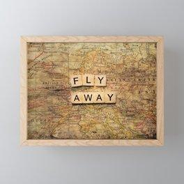 fly away-2 Framed Mini Art Print