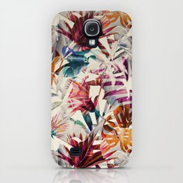 Tulip pattern iPhone Case