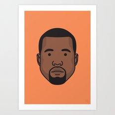 Mr West Art Print