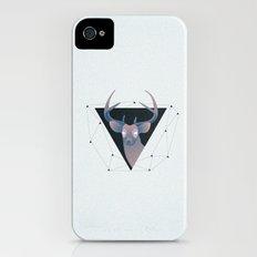 Deer Hipster iPhone (4, 4s) Slim Case