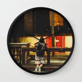 PHOTOGRAPHY - Pray Wall Clock