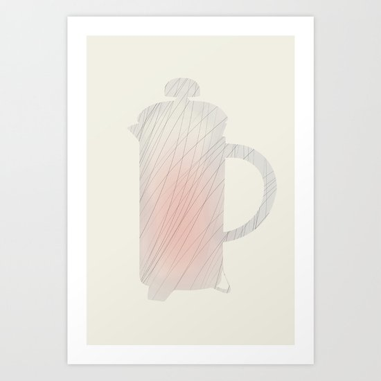 I love french-press Art Print