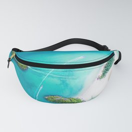 Turquoise Tropical Ocean Fanny Pack
