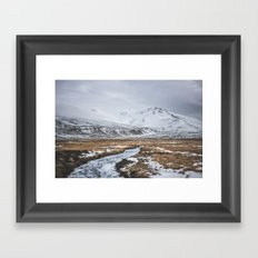 Heading to the Mountains Framed Art Print