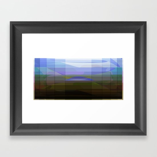 View from Elephant Head Framed Art Print