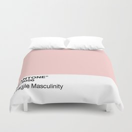 MANTONE® Fragile Masculinity Duvet Cover