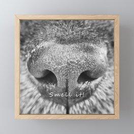 Smell it! Framed Mini Art Print