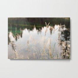 Sun River Metal Print