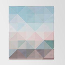 Apex geometric Throw Blanket