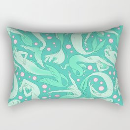 Tails of the Deep Rectangular Pillow