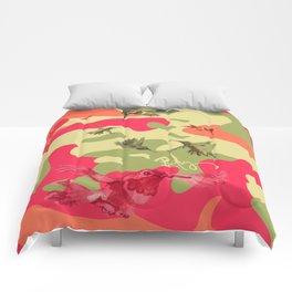 Charming Camo: Hummingbird Camouflage Comforters