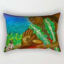 The Legend of the Taro Rectangular Pillow