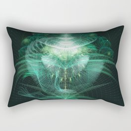 Digital Botanics Rectangular Pillow