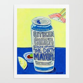 Citizen Cider - The Dirty Mayor Poster