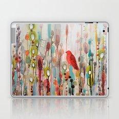 la vie comme un passage Laptop & iPad Skin