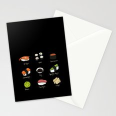 Sushi Days two Stationery Cards