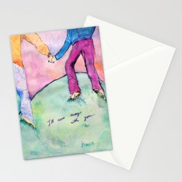I'll run away with you Stationery Cards