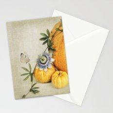pumpkin & passiflora Stationery Cards