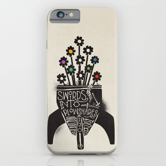 Swords Into Plowshares iPhone & iPod Case