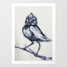 Do not kill the mockingbird Art Print