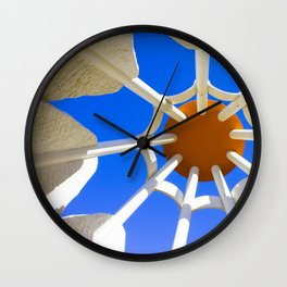 Under the Shuttlecock Wall Clock